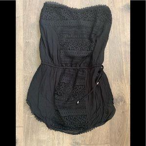 Solitaire Swim Crochet cover up - M